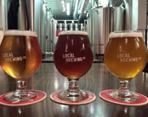 local brewing_three glasses